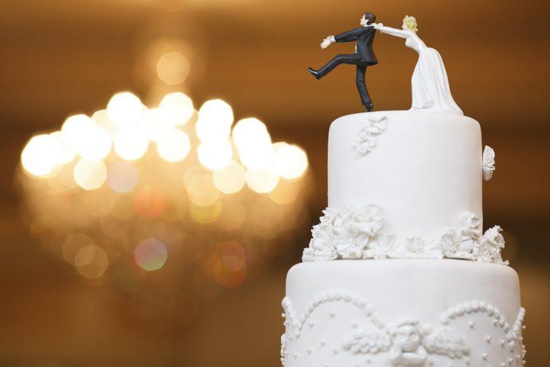 Vtipné svatební figurky