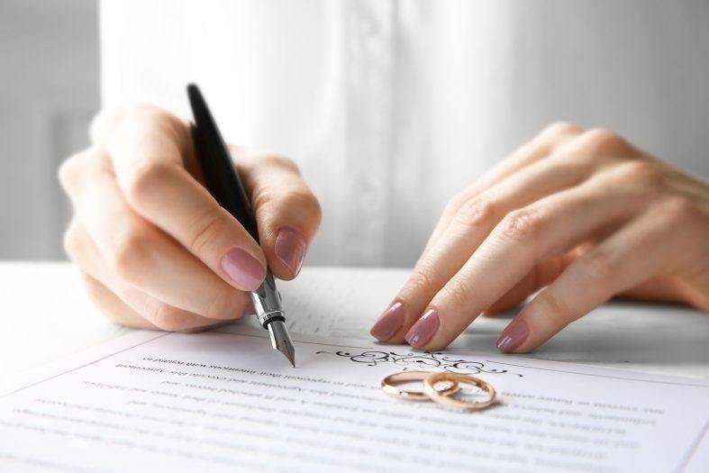 Doklady ke svatbě