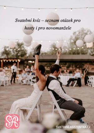 Svatební hra boty - otázky