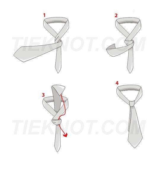 Dvojitý kravatový uzel