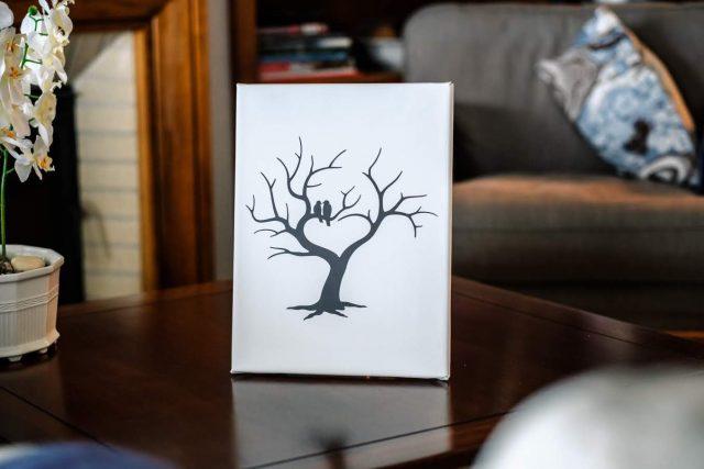 Malý svatební strom