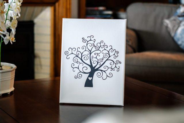 Svatební strom romantický