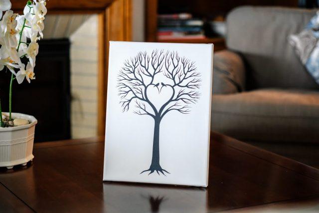 Velký svatební strom
