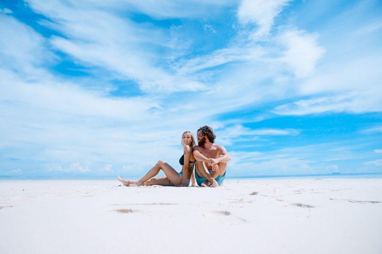 Užijte si společných chvil na pláži