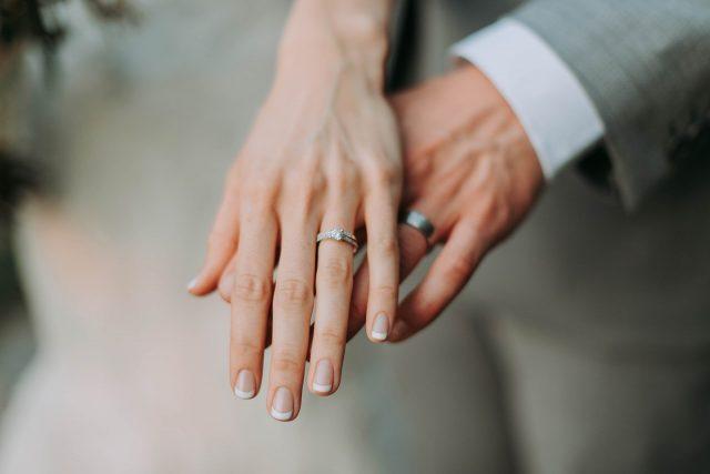 Zjištění a změření velikosti prstenů