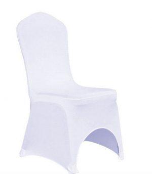 Střih svatebních potahů židlí