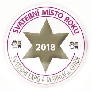 Logo Svatební místo roku 2018
