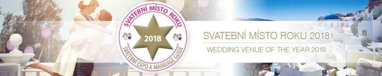 Svatební místo roku 2018
