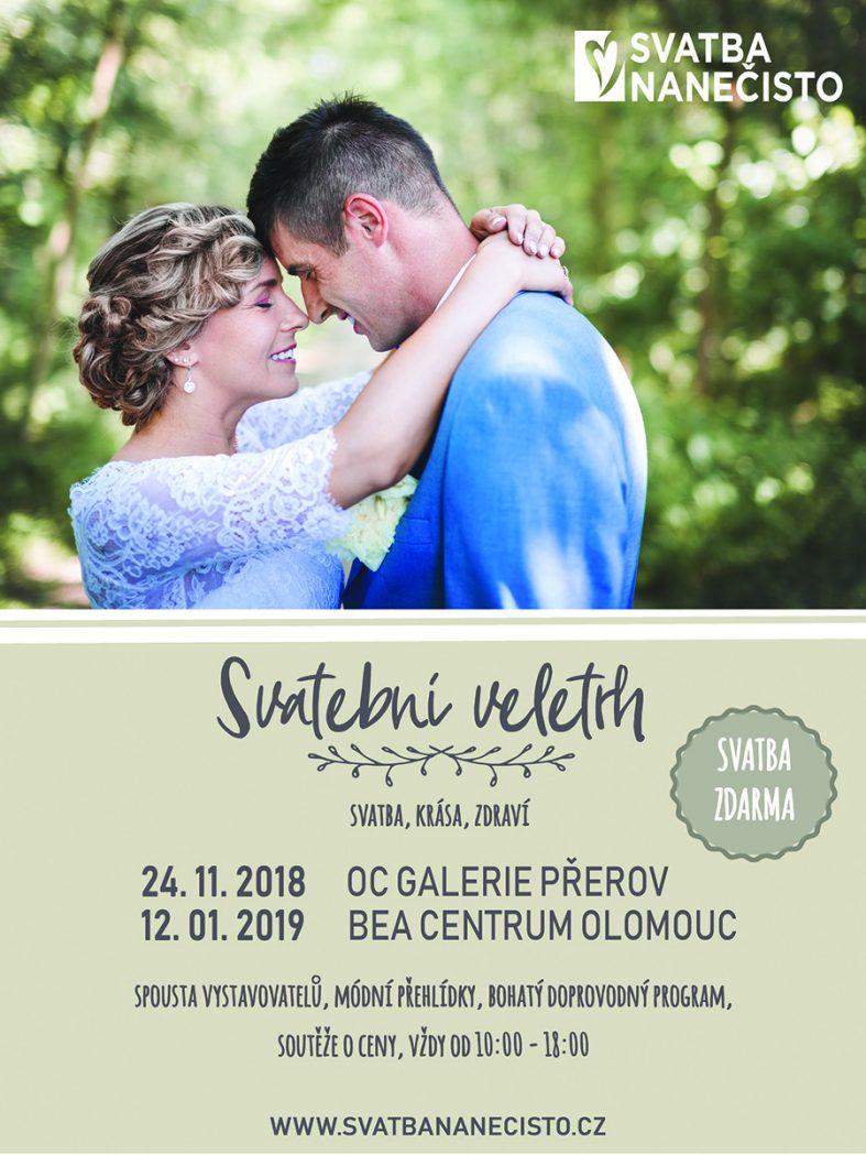 Svatební veletrhy svatba nanečisto Olomouc 2019