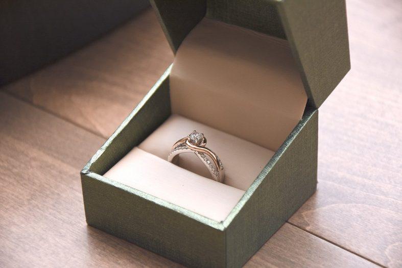 Vzhled zásnubního prstenu