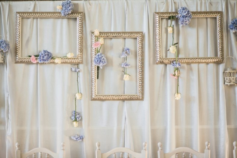 Rámečky na svatbě