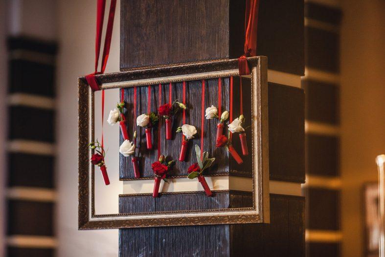 Rámečky jako svatební dekorace