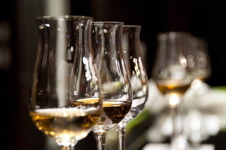 Svatební alkohol na přípitek