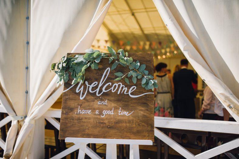 Cedule na svatbě