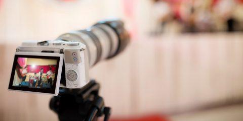 Svatební video, kameraman