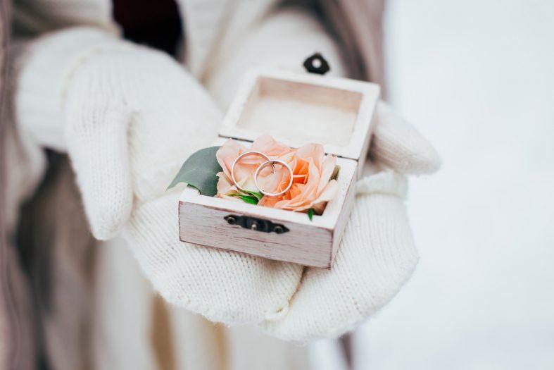 Svatba v lednu