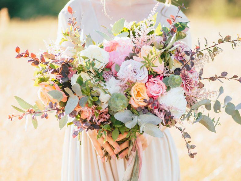 Svatební kytice roku 2020