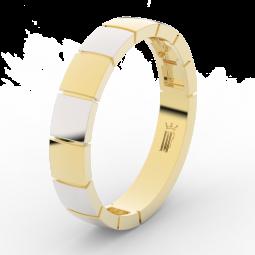 Pánský snubní prsten ze žlutého zlata, Danfil DLR3058
