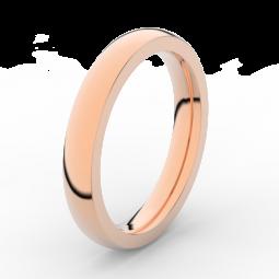 Pánský snubní prsten z růžového zlata, Danfil DLR3884