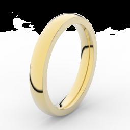 Pánský snubní prsten ze žlutého zlata, Danfil DLR3884