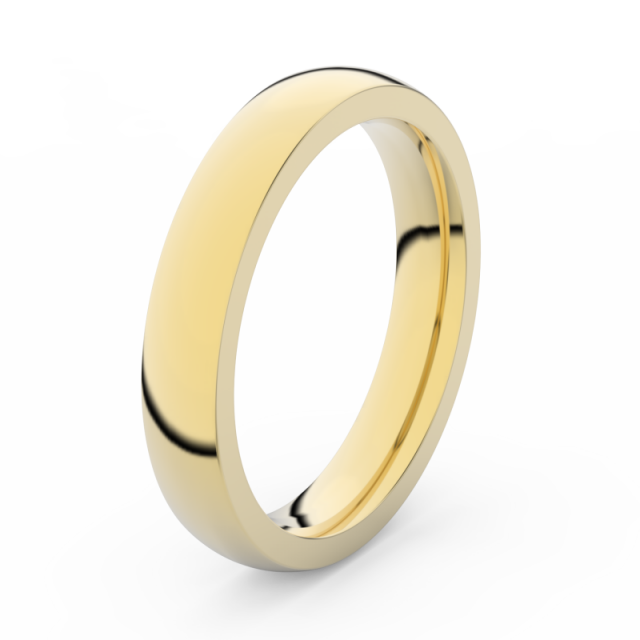 Pánský snubní prsten ze žlutého zlata, Danfil DLR3885