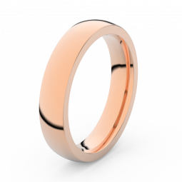 Pánský snubní prsten z růžového zlata, Danfil DLR3886