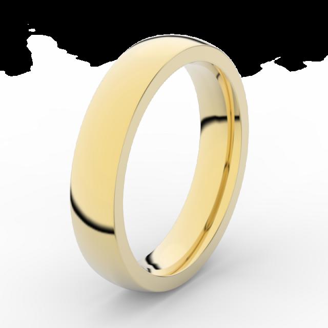 Pánský snubní prsten ze žlutého zlata, Danfil DLR3886