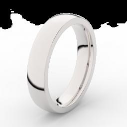 Pánský snubní prsten z bílého zlata Danfil DLR3886