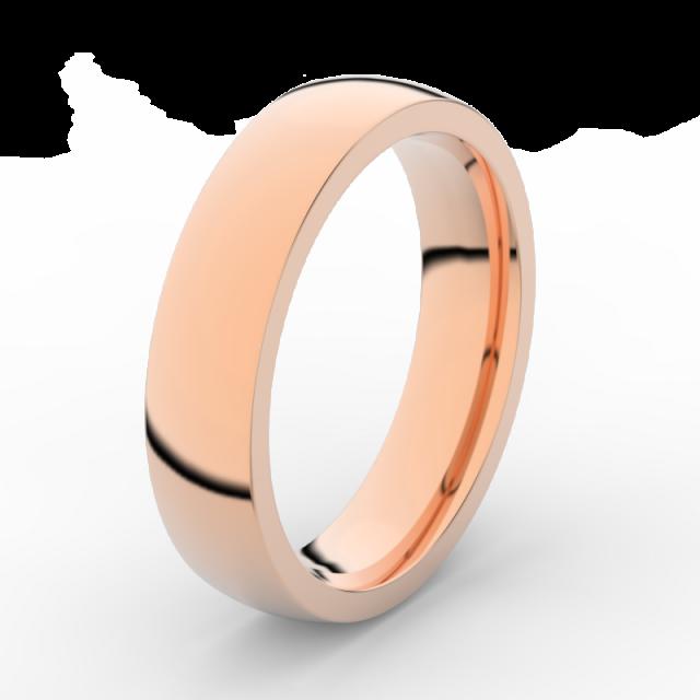 Pánský snubní prsten z růžového zlata, Danfil DLR3887