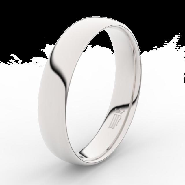 Snubní prsten z bílého zlata 585/1000 Danfil