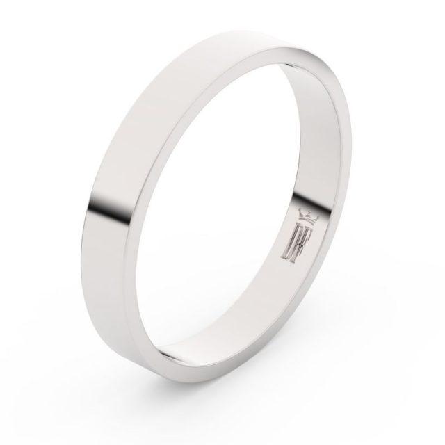 Snubní prsten z bílého zlata, Danfil FMR 1G35