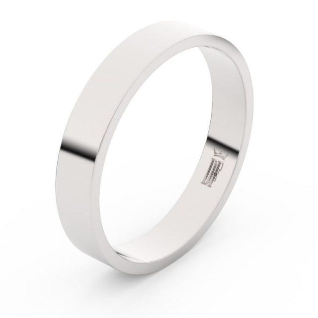 Snubní prsten z bílého zlata, Danfil FMR 1G40