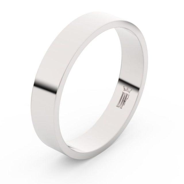 Snubní prsten z bílého zlata, Danfil FMR 1G45