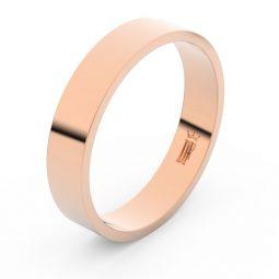 Snubní prsten z růžového zlata, Danfil FMR 1G45