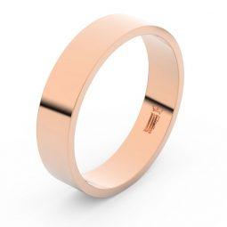 Snubní prsten z růžového zlata, Danfil FMR 1G50