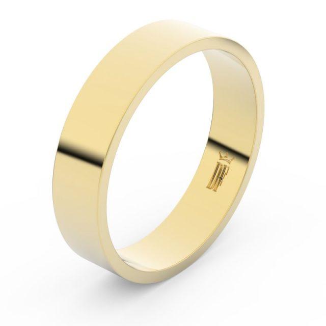 Snubní prsten ze žlutého zlata, Danfil FMR 1G50
