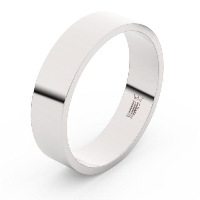 Snubní prsten z bílého zlata, Danfil FMR 1G55