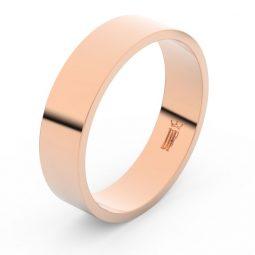 Snubní prsten z růžového zlata, Danfil FMR 1G55