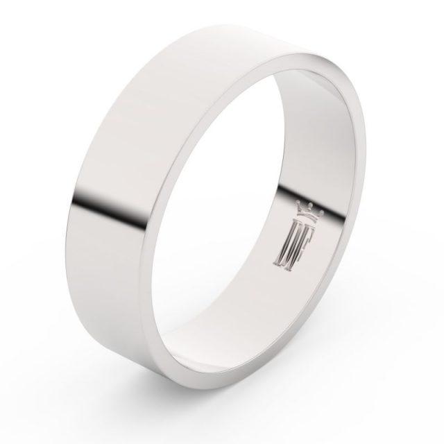 Snubní prsten z bílého zlata, Danfil FMR 1G60