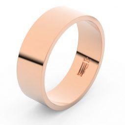 Snubní prsten z růžového zlata, Danfil FMR 1G70