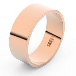 Snubní prsten z růžového zlata, Danfil FMR 1G80