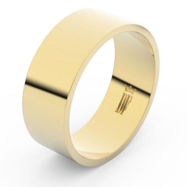 Snubní prsten ze žlutého zlata, Danfil FMR 1G80