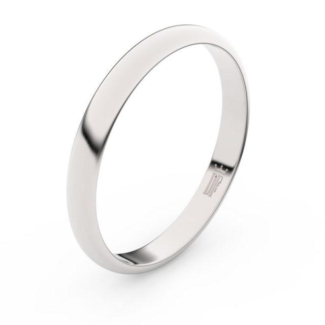 Snubní prsten z bílého zlata, Danfil FMR 2A30