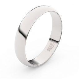 Snubní prsten z bílého zlata, Danfil FMR 2D45