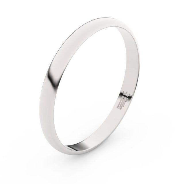 Snubní prsten z bílého zlata, Danfil FMR 4G25