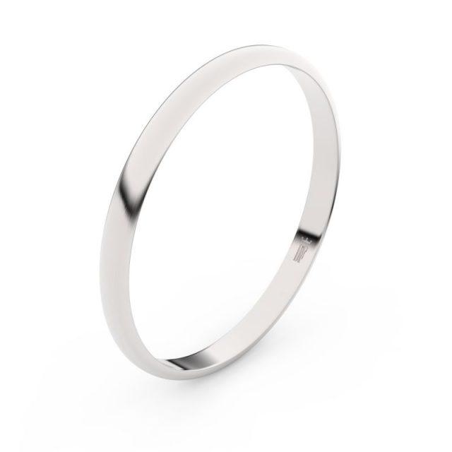 Snubní prsten z bílého zlata, Danfil FMR 4H20