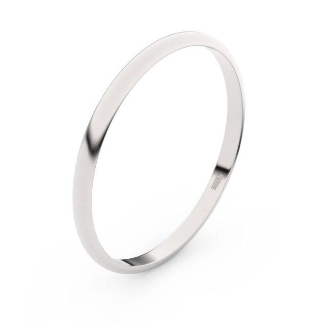 Snubní prsten z bílého zlata, Danfil FMR 4I17