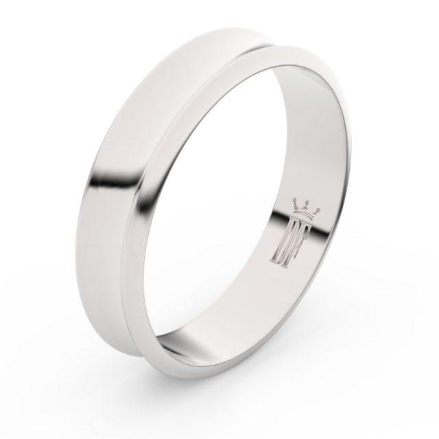 Snubní prsten z bílého zlata, Danfil FMR 5A50
