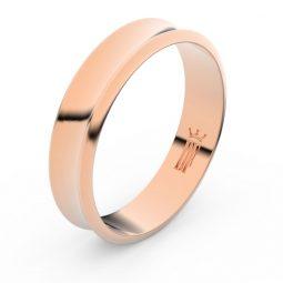 Snubní prsten z růžového zlata, Danfil FMR 5A50