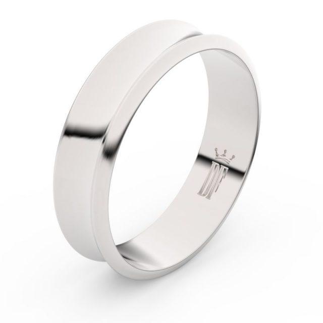 Snubní prsten z bílého zlata, Danfil FMR 5C57